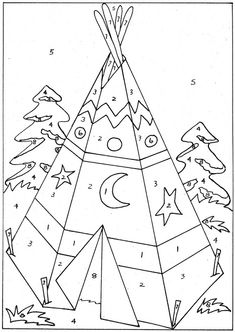 christmas color by number printables - Bing Images Preschool Pictures, Crafts With Pictures, Colorful Pictures, Coloring Pages For Kids, Coloring Sheets, Coloring Books, Christmas Color By Number, Christmas Colors, Drawing For Kids