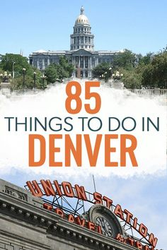The best things to do in Denver Colorado - including breweries restaurants parks hikes and museums. If you're looking for things to keep you busy the next time you travel to Denver this list has you covered! Estes Park Colorado, Denver Colorado, Pueblo Colorado, Chile Colorado, Telluride Colorado, Breckenridge Colorado, Colorado Springs, Colorado Trip, Colorado Mountains