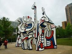 Spectacular Monument au Fantôme by Jean Dubuffet | Explore Houston With Peggy