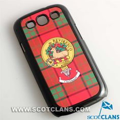 Maxwell Clan Crest Phone Cover: