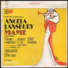 """""""Mame"""" had already been a successful novel, play, and film (the last two under the title """"Auntie Mame""""). By opening night of this musical incarnation on May 24, 1966, Bobby Darin and Louis Armstrong had reached the charts with recordings of the title song. Jerry Herman's score hasn't a weak song. Add a cast headed by Lansbury, Frankie Michaels, and Beatrice Arthur, and you have the makings of a terrific cast album, which this is.  (Vinyl LP)"""