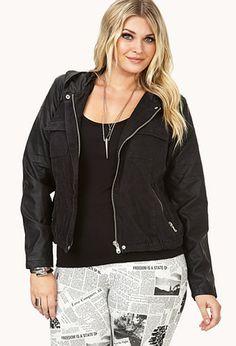 Street-Femme Denim Jacket | FOREVER21 PLUS - 2000092135