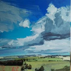 Philip Tyler That view acrylic on board, 30 x 30cm