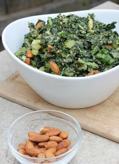 (gluten and dairy-free, too!) Oh friends, do I have a salad for youuuuuu….  Soft kale with a creamy dressing,...