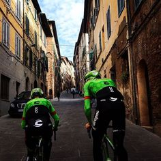 1km to go Strade Bianche Recon credit Alex Howes