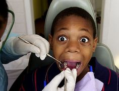 Child Afraid of Dentist Browsing thru the web and found these images and thought I should share .. What do you think