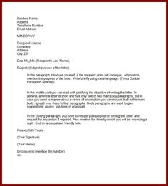 example semi block style application letter business format pictures pin pinterest