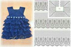 Trong các mẫu móc đồ thì móc váy cho bé là một món đồ có nhiều kiểu dáng đẹp và đáng yêu nhất. Vậy hãy cùng bỏ túi ngay những mẫu váy cho bé có chart chi tiết đi kèm dưới...