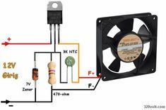 Regulator 7805  with Fan control 7805 fan regulator zener ntc Electronics Projects, Electronics Storage, Electronics Components, Electrical Projects, Cool Electronics, Arduino Projects, Componentes Smd, Simple Circuit Projects, Electronic Circuit Design