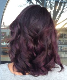 Blackened base and lights of violet tones. Super fun and the picture doesn't do it justice! Blue Salon Reno, NV
