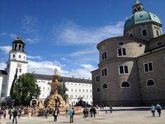 Salzburg, Austria - July 2012.