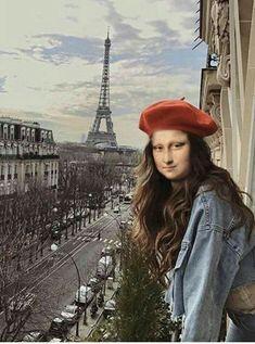 Real Mona Lisa, Mona Lisa Smile, Princesa Disney Frozen, Van Gogh, La Madone, Mona Lisa Parody, Instagram Story Filters, Art Jokes, 6th Grade Art