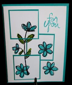 Stamp & Scrap with Frenchie: Frame stamping Video