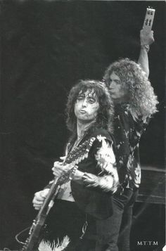 Led Zeppelin: Jimmy Page and Robert Plant