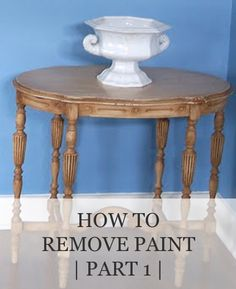 How to Remove Paint (part 1) | www.missmustardseed.com