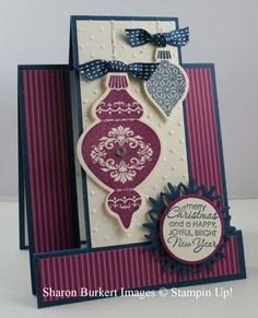 Stampin Up!    Ornament Keepsakes