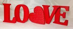 Letras decorativas - LOVE S2