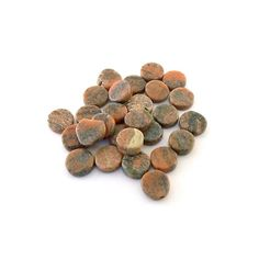 Beads Jasper Coin Loose Beads by DestashShack on Etsy, $1.50