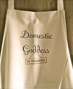 I've noticed a trend with many of my creative clients and readers – we don't want to do housework! So I designed this apron to uplift and adorn other Undomestic Goddesses. Keep Calm, Power Of Now, Make Peace, Creativity Quotes, Domestic Goddess, Life Design, Life Purpose, Simple Pleasures, Design Thinking