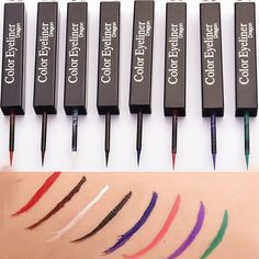 8 Colors Liquid Eye Liner Stick Stage Eyeliner Pencil Makeup Cosmetic Waterproof  | eBay