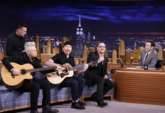 The biggest band in the world will join forces with the biggest name in late night when U2 appears on NBC's The Tonight Show Starring Jimmy Fallon for an unprecedented weeklong event taking place N...