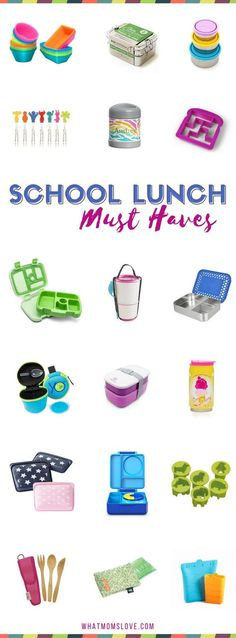 Back to School Lunch Box Ideas for Kids | Best Bento Box containers, stainless steel products, supplies and tools | Say goodbye to tupperware and hello to fun supplies that will help you pack fun, healthy school lunches for picky eaters, kindergartners, grade schoolers and teens.