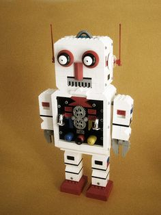 wonderful Lego robot by Yul B Karel