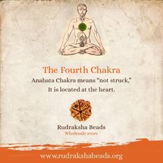 The Fourth Chakra is symbolized by the colour green and a lotus with 12 petals. A balance in the Fourth Chakra benefits the immune and endocrine systems. #RudrakshaBeads #Spirituality