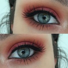 Up close and personal with today's super simple eye makeup emoji Using MUG Chickadee, Poppy and In The Spotlight, @sugarpill Love+ pressed shadow and the slightest touch of Lumi on the centre of the lid, @rimmellondonau Scandaleyes Kohl Liner and @socialeyeslash #SERavishingLash emoji You can easily opt for no lashes with this look it's just my personal preference! - See more at: http://iconosquare.com/viewer.php#/detail/1023778701466630035_1695230476