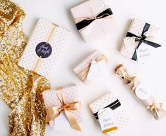 Printable last minute holiday gift wrap !