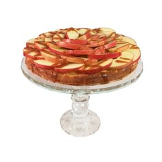 Apple cake is adored in Germany, and this moist 'Apfelkuchen' with fresh crunchy red apples and caramel glazing as a topping will show you why.