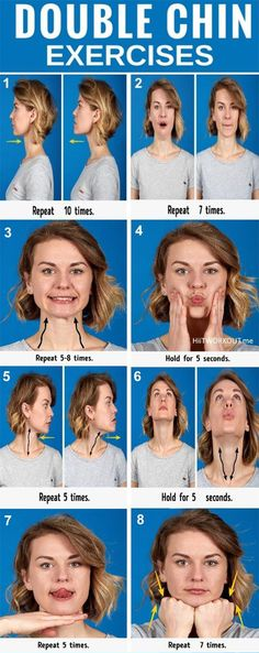 face yoga exercises before and after \ face yoga - face yoga exercises - face yoga before and after - face yoga facial exercises - face yoga method - face yoga exercises double chin - face yoga exercises before and after - face yoga for glowing skin Fitness Workouts, Fitness Weightloss, Gym Fitness, Cardio Workouts, Fat Workout, Workout Hair, Exercise Workouts, Easy Workouts, Double Chin Exercises