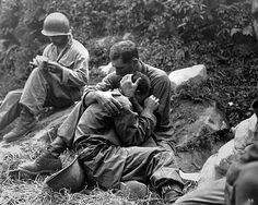 1951 ... US soldiers - Korean War. This is raw, powerful, and heartbreaking.