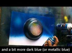 ▶ Gerardo Amor teaches the Blue Ocean painting - YouTube
