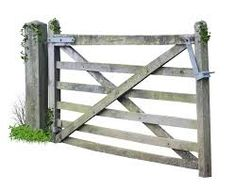 Image result for wooden farm gate