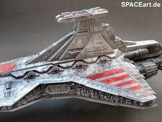 Star Wars: Republic Star Destroyer - Display Modell, Fertig-Modell ... https://spaceart.de/produkte/sw060.php