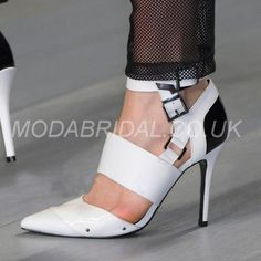 modabridal.co.uk SUPPLIES Tailormade Glueing Pointed Toe Fall Low-Cut Upper Patent Leather Banquet Stiletto Heel Button Pumps Prom Shoes