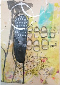 Covering Up Good Stuff in Art Journaling. — Roben-Marie Smith - The Official Website of Tech-Savvy Artist Roben-Marie Smith Book Journal, Journals, Collage, Drawing, Art Journaling, Scrap, Cover Up, Tech, Artist
