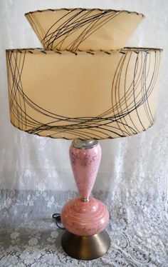 """1950's"" table lamp just too cool."