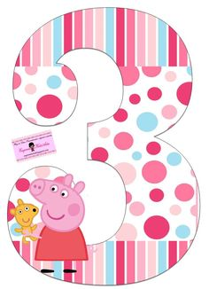 Peppa Geburtstag Peppa Geburtstag Peppa Pig is usually a British preschool computer animated television Invitacion Peppa Pig, Cumple Peppa Pig, Peppa E George, George Pig, Third Birthday, 3rd Birthday Parties, Peppa Pig Imagenes, Pig Png, Peppa Big