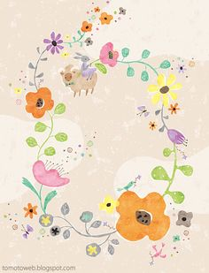 tomoto: Flower Garland