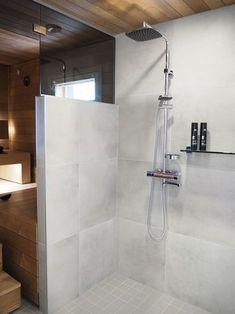 Huh, mikä kuvapläjäys tulossa Seinäjoen asuntomessuilta, toivottavasti jaksatte plärätä loppuun saakka. Ajattelin aluksi, että teen muutamis... Laundry Room Bathroom, Bathroom Plans, Bathroom Spa, Bathroom Toilets, Grey Bathrooms, Bathroom Layout, Bathroom Cleaning, Beautiful Bathrooms, Bathroom Organization