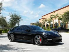 Porshe Panamera with 3M Color Stable