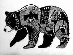 Native American Bear Tattoo HD Wallpapers on picsfair.com