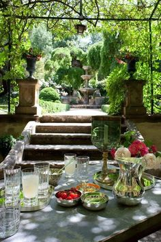 Pergola With Roof Plans Outdoor Rooms, Outdoor Dining, Outdoor Gardens, Outdoor Decor, Al Fresco Dining, Pergola Designs, Pergola Kits, Pergola Shade, Deco Table