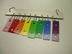 windchimes from an old xylonphone