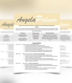 resume cover letter design template microsoft word by urbandsigns creative resume teacher resume cover - What Is A Cover Letter Resume
