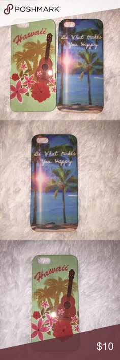 Hawaii themed phone cases Hawaiian themed phone cases for iPhone 5s Claire's Accessories Phone Cases