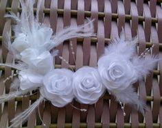 Arranjos para cabelo de noivas