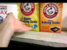 powdered laundry soap recipe video